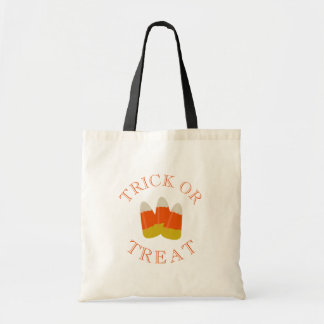 Halloween Trick or Treat Candy Corn Tote Bag