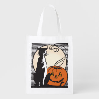 Halloween Trick-Or-Treat! Grocery Bag