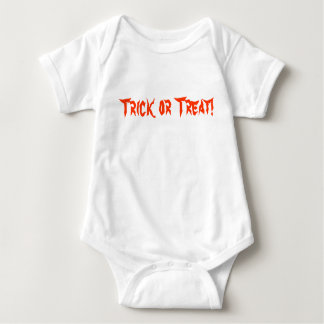 Halloween Trick or Treat Infant Bodysuit / Creeper