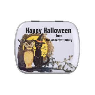 Halloween Trick or Treat Jelly Belly Candy Tins
