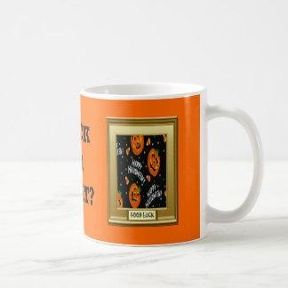 Halloween, Trick or treat Classic White Coffee Mug