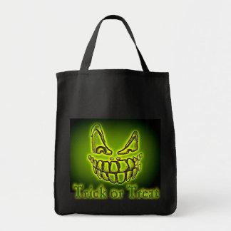Halloween trick or Treat Spooky Creeper Tote Bag