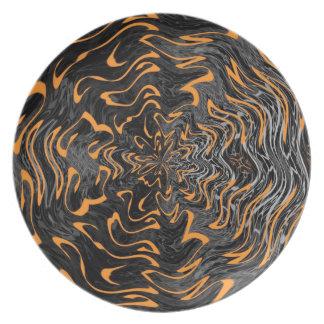 Halloween Twist Plate