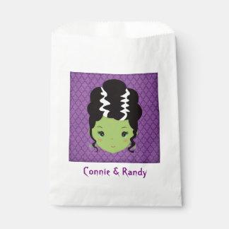 Halloween Wedding Paper Favor Bag