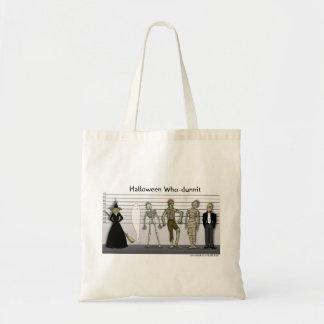Halloween Who-dunnit Tote Bag