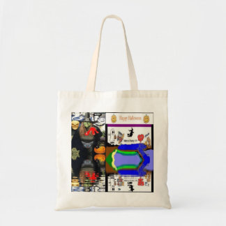 Halloween Witch Candy Totes and Bags