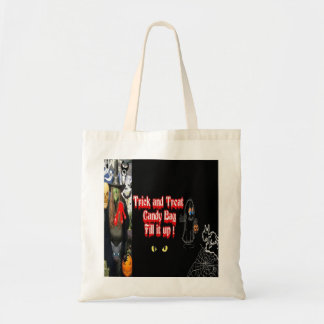 Halloween Witch Candy Totes Budget Tote Bag