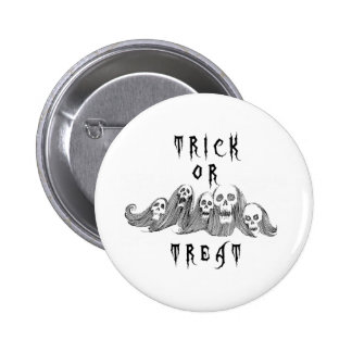 Halloween Witches Trick or Treat 6 Cm Round Badge