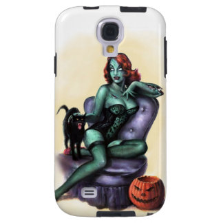 Halloween Zombie Girl Pin Up Galaxy S4 Case