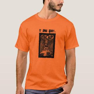 Halls of Bedlam original comic book art t-shirt