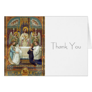 Halt in Awe Thank You Note including envelopes Note Card