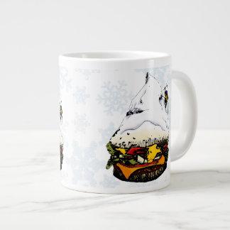 Hamburger Mountaineer Snowstorm - 4 Jumbo Mug
