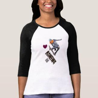 HAMbWG - T-Shirt - Female Boarder
