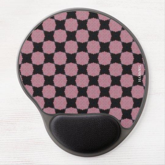 HAMbyWG - Gel Mouse - Pink & Black Gel Mouse Pad