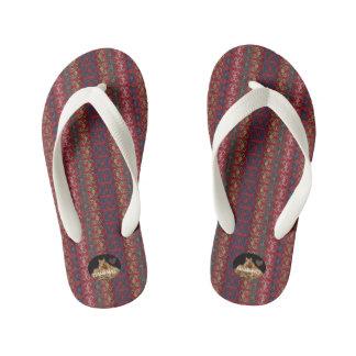 HAMbyWG Kid's Flip-Flops - Red/Blue Thongs
