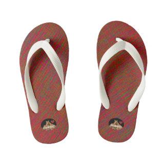 HAMbyWG Kid's Flip-Flops - Red Mix Thongs