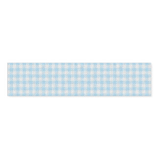 HAMbyWG - Napkin Band - Baby Blue Gingham
