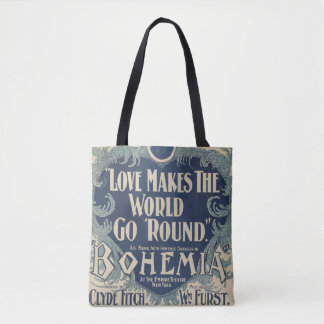 HAMbyWG - Novelty Tote Bag - Bohemia