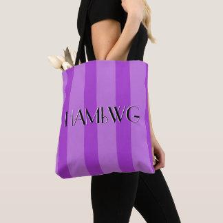 HAMbyWG - Tote Bag  - Purple/Purple