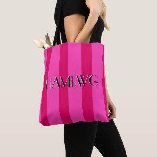 HAMbyWG - Tote Bag  - Rose Pink/Rose Pink