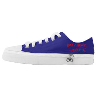 "HamilaPlayzMC Shoes: ""Hamila's Hammies"" Printed Shoes"