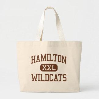 Hamilton - Wildcats - Junior - Parkersburg Jumbo Tote Bag