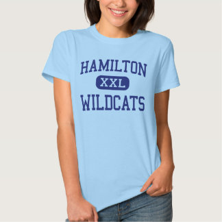 Hamilton Wildcats Middle Memphis Tennessee T-shirt