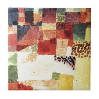 Hammamet by Paul Klee Tile