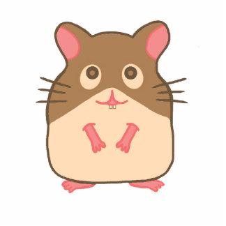 Hammy Hamster Standing Photo Sculpture