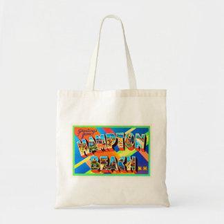 Hampton Beach #2 New Hampshire NH Travel Souvenir Tote Bag