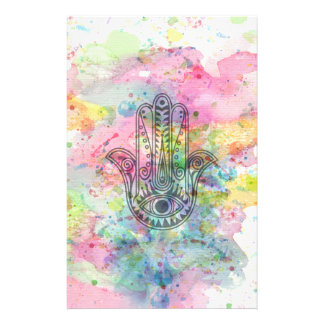 HAMSA Hand of Fatima symbol Stationery