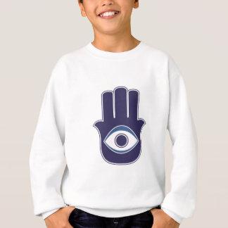 Hamsa / Khamsa Hand of Fatima / Mary Amulet / Luck Sweatshirt