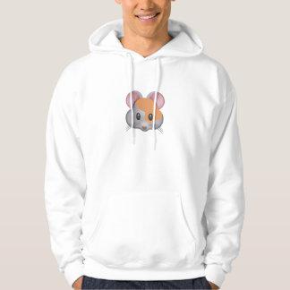 Hamster Face Emoji Hoodie