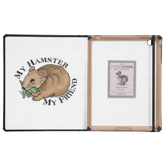 Hamster Friend iPad Folio Case