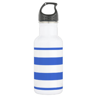 Han Blue Horizontal Stripes 532 Ml Water Bottle