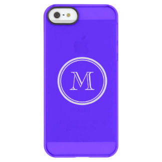 Han Purple High End Colored Monogram Permafrost® iPhone SE/5/5s Case