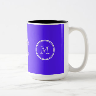 Han Purple High End Colored Monogram Two-Tone Coffee Mug