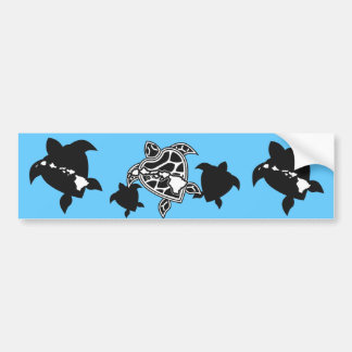 Hanauma Bay Hawaii Turtle Bumper Sticker