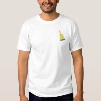 Hand Bell Embroidered T-Shirt