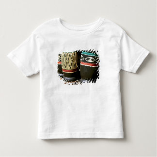 Hand carved drums, Livingston, Zambia Tee Shirt