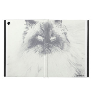 Hand Drawn Cat iPad Case