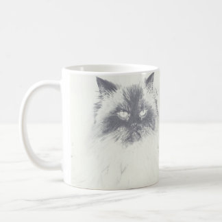 Hand Drawn Cat Lover Coffee Mug