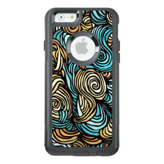 Hand-drawn Swirl iPhone Otterbox Case