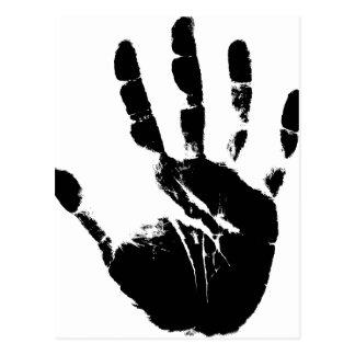 Hand Mark Postcard