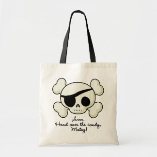 Hand Over The Candy Pirate Budget Tote Bag