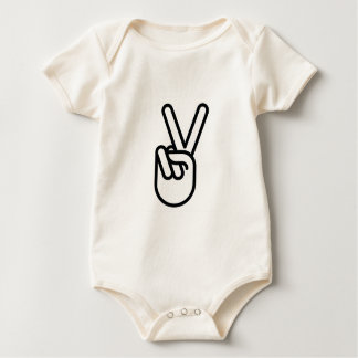 Hand Peace Sign Bodysuit