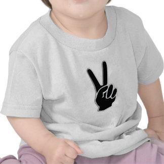 HAND PEACE SYMBOL TEES