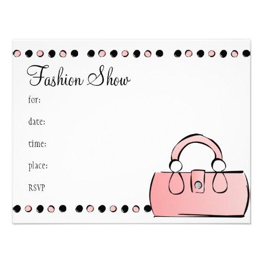 Handbag Personalized Announcements