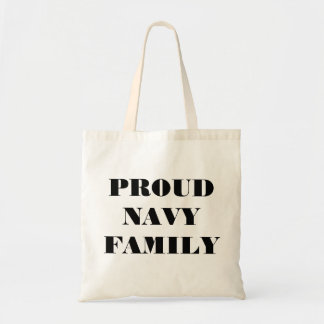Handbag Proud Navy Family Budget Tote Bag