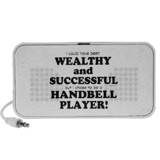 Handbell Wealthy & Successful iPhone Speakers